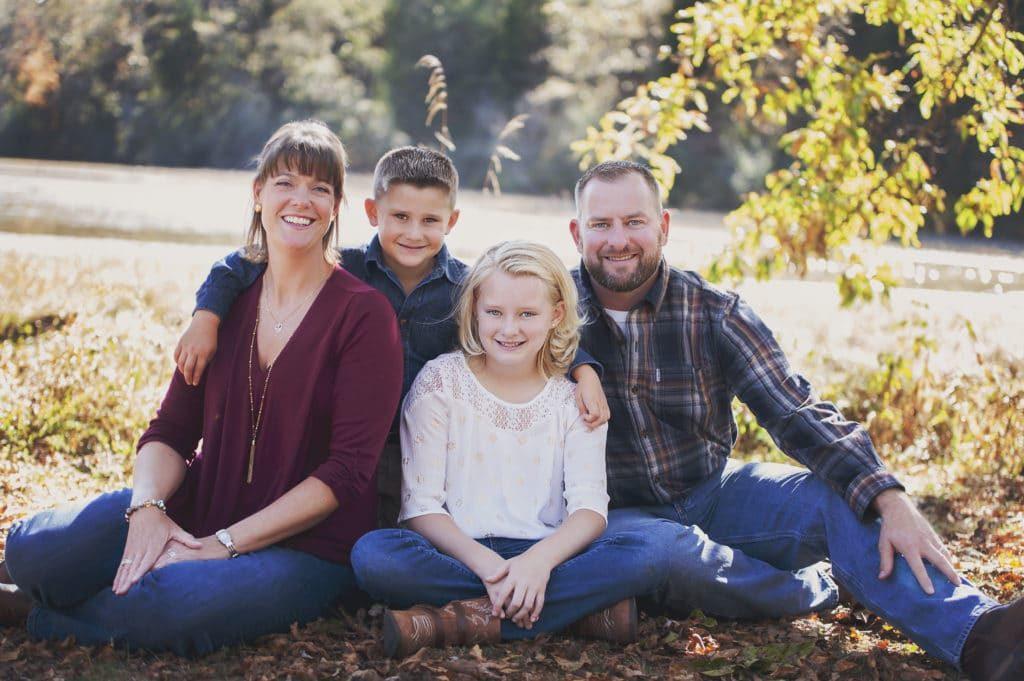 family photos at the aj jolly park