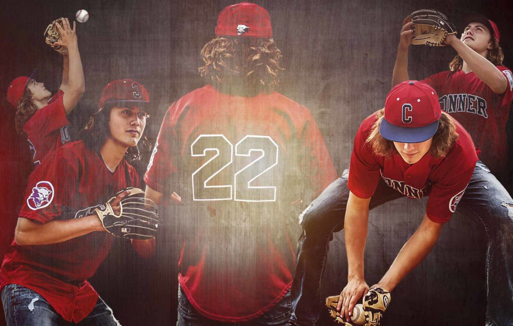 Conner High School Baseball Senior Portraits | Kolton