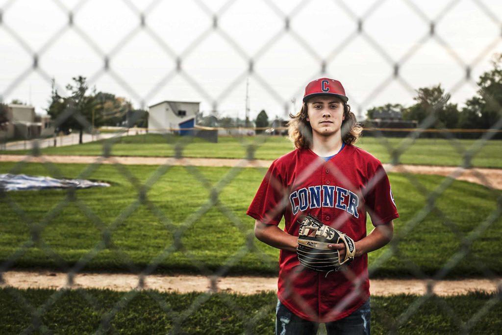 senior baseball photo