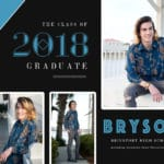 Grad Card Bryson Collage