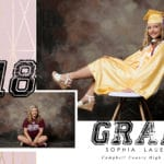 Sophia Grad Card Example