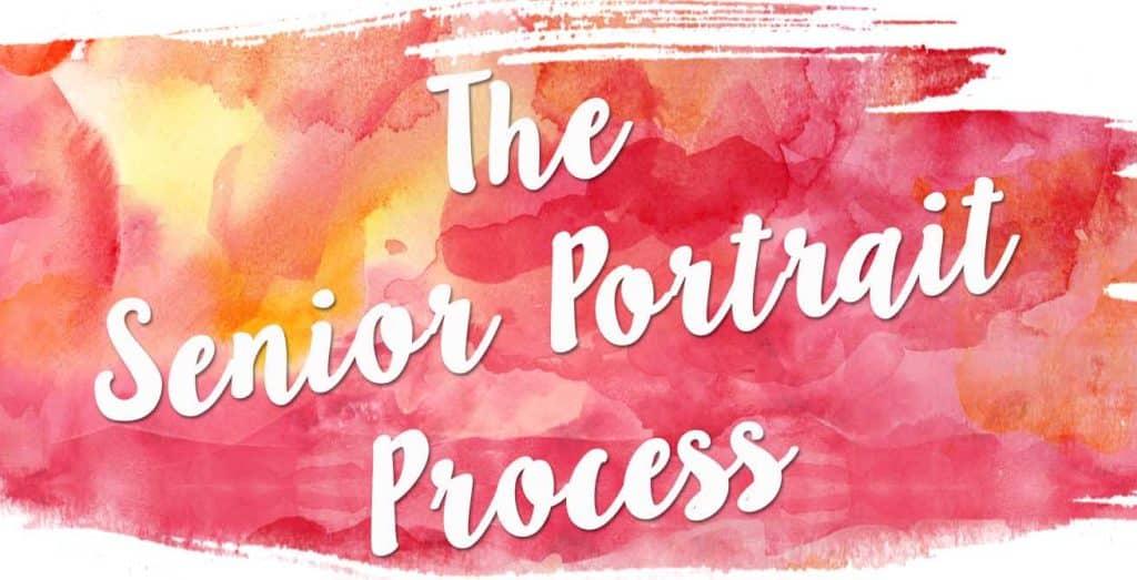 senior portrait process