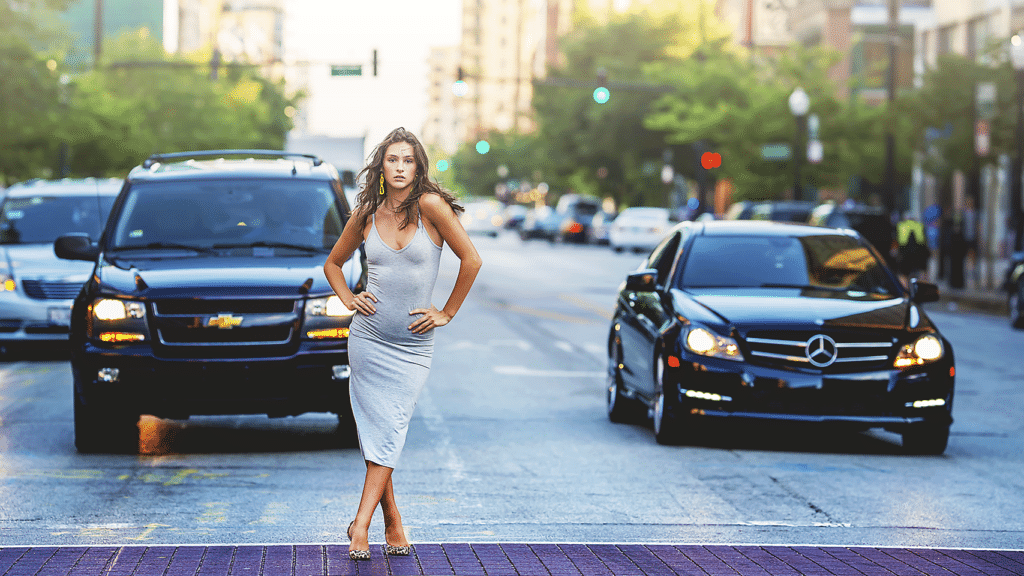 street model pose