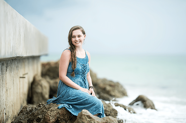 Longboat Key Florida Senior Portraits | Destination Session At The Beach