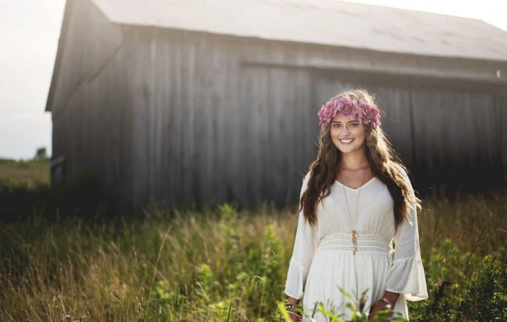 Savannah Lee | Campbell County High School Senior Portrait Session