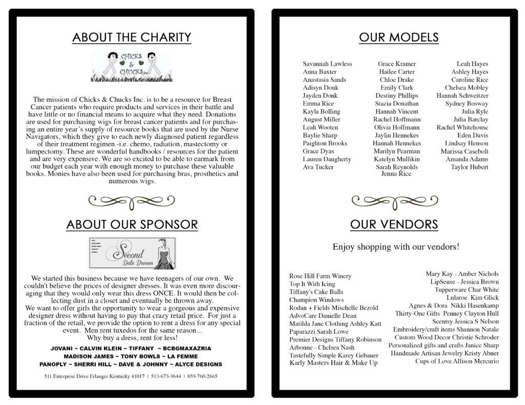 chicks & chucks fundraiser
