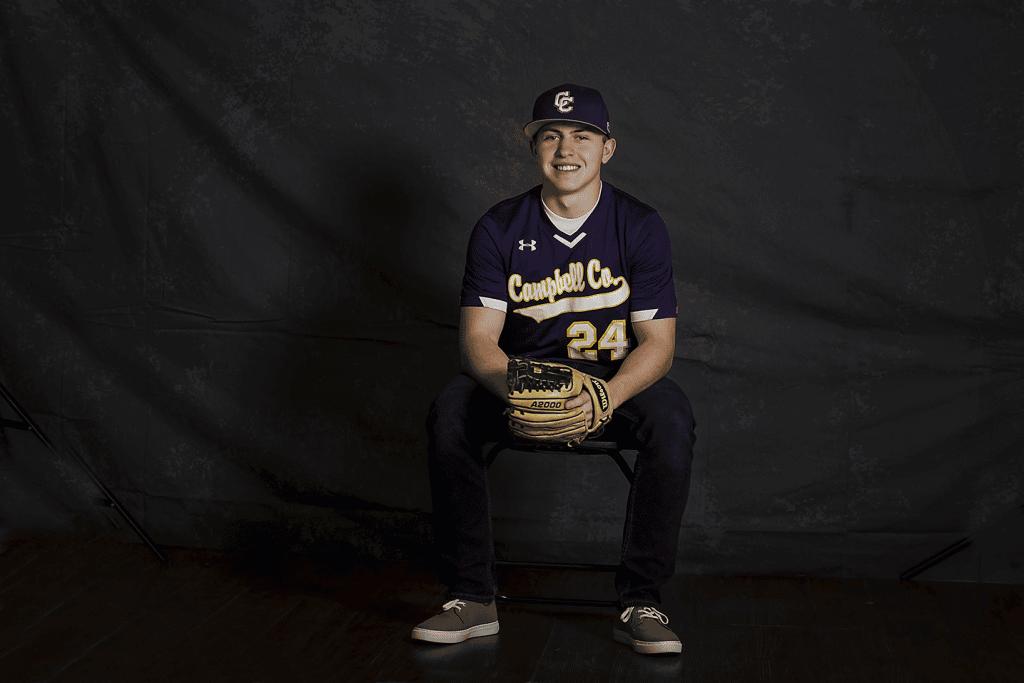 baseball senior portraits