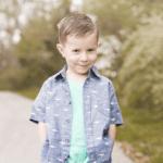child portrait pose