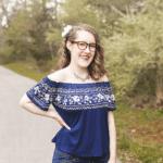 teen girl portrait pose