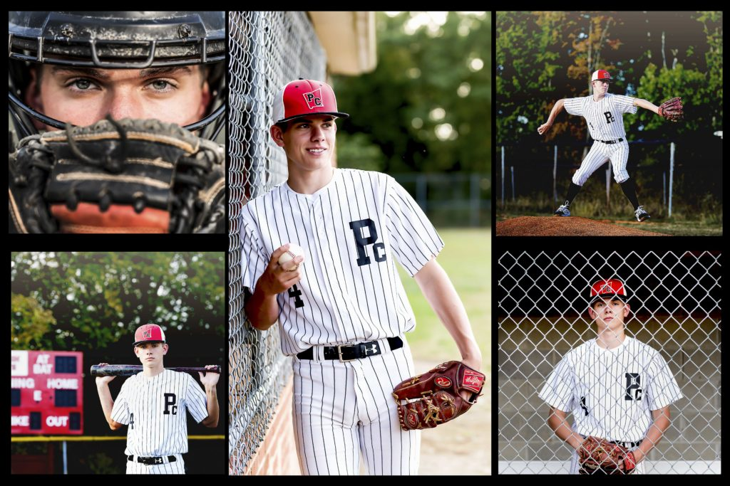 baseball senior picture ideas