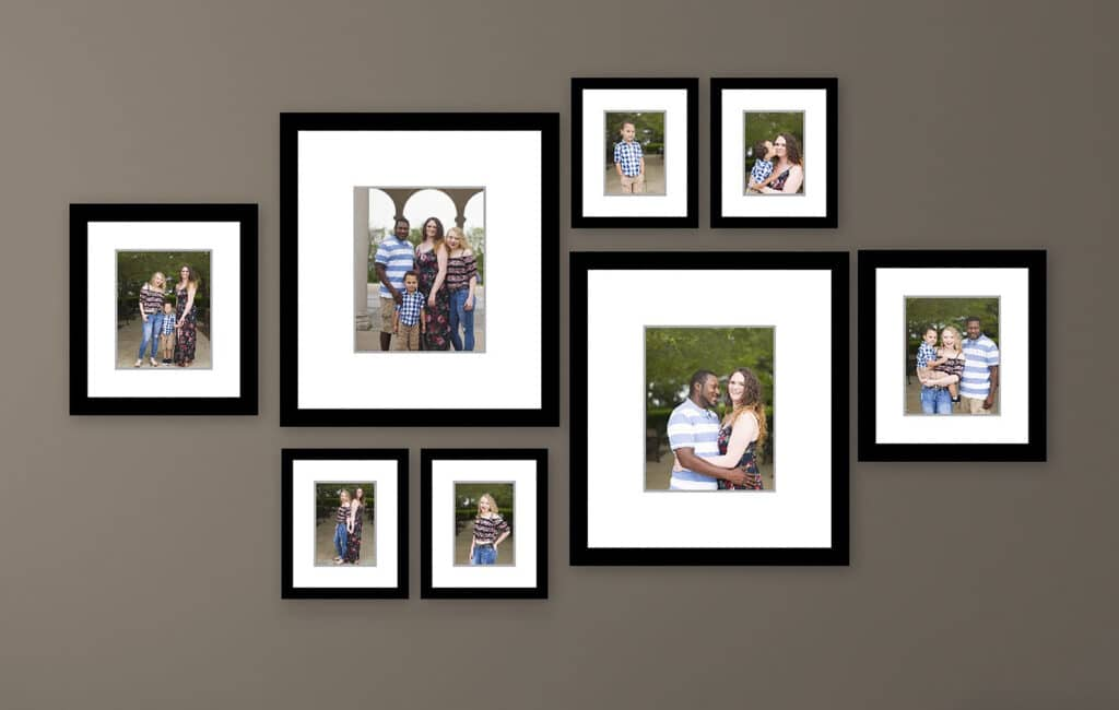 Ideas For Displaying Your Family Photos