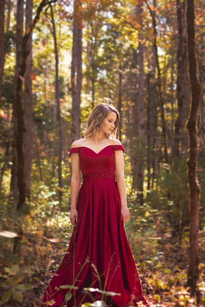 senior pictures in the smoky mountains